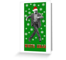 Walter White Xmas Greeting Card