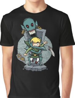 Zelda Wind Waker FREE HUGS  Graphic T-Shirt