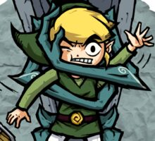 Legend of Zelda Wind Waker FREE HUGS T-Shirt Sticker