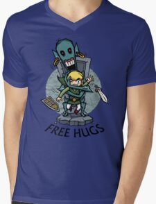 Zelda Wind Waker FREE HUGS  Mens V-Neck T-Shirt