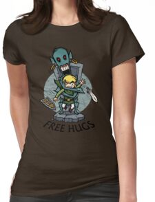 Zelda Wind Waker FREE HUGS  Womens Fitted T-Shirt