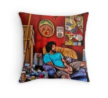 The mind of an artist Throw Pillow