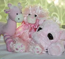The Pink Three for Baby & Me by aussiebushstick