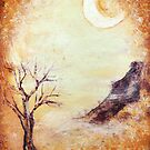 Dancing Moon, Mountain Tree by Lester Ancheta
