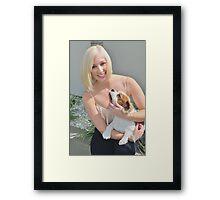 Jess and Angel Framed Print