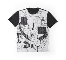 Octopus Ink Graphic T-Shirt