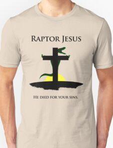 Raptor Jesus Died For Your Sins T-Shirt