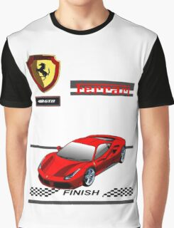 Ferrari 488 GTB II Graphic T-Shirt