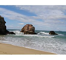 'Red Rock' North/East coast, New South Wales. Australia Photographic Print