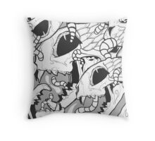 WORMS - DEAD CAT Throw Pillow