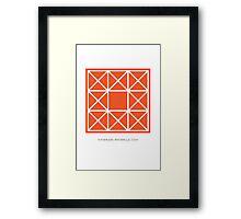 Design 84 Framed Print