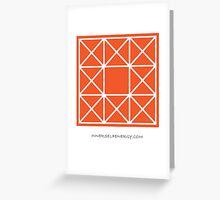 Design 84 Greeting Card