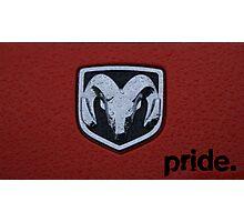 Dodge Pride Photographic Print