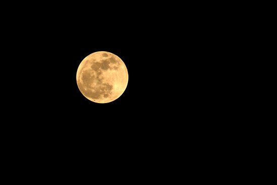 Super Moon in May by AuntDot