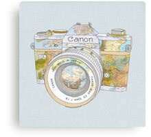 Travel Canon Canvas Print