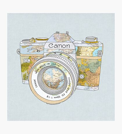 TRAVEL CAN0N Photographic Print