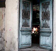 Vietnam Door  ( III ) by Pat Lynch