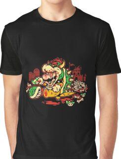 MARIO MADNESS BOWSER Graphic T-Shirt
