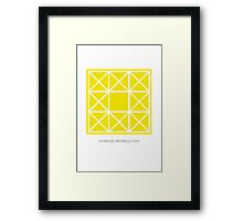 Design 85 Framed Print