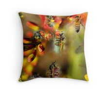 GETTING IN TOUCH WITH NATURE Throw Pillow