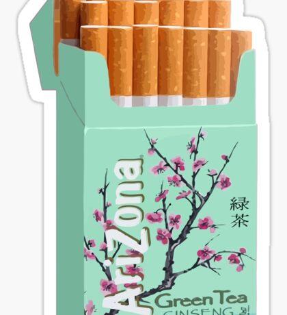 Arizona Tea Cigarettes Sticker
