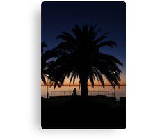 Rockingham Sunset Canvas Print
