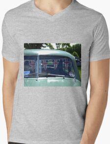 9 Morris Minor Bunting Mens V-Neck T-Shirt