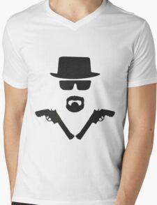 Heisenberg akimbo Mens V-Neck T-Shirt