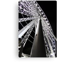 Brisbane wheel close up at night Canvas Print