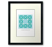 Design 2 Framed Print