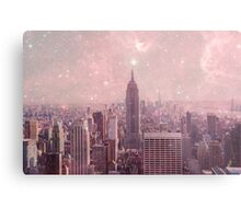 Stardust Covering New York Metal Print