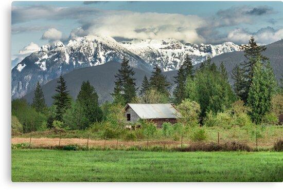 Cascade Mountains by Jim Stiles