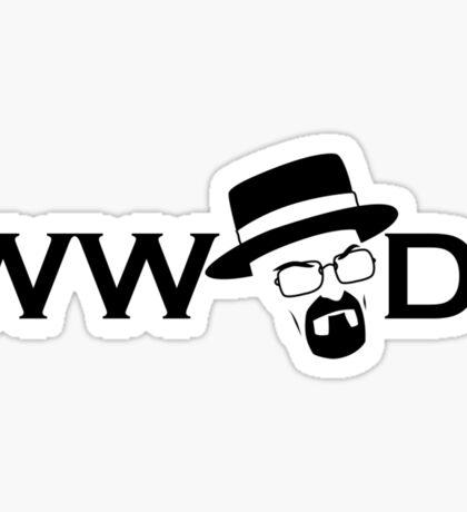 What Would Heisenberg Do? Sticker