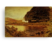 Once Upon a Time. Somewhere in Wicklow Mountains. Ireland Canvas Print