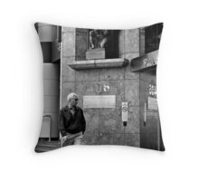 Man's World Throw Pillow