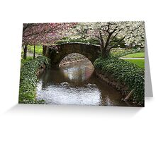 Garden in the Gorge Greeting Card
