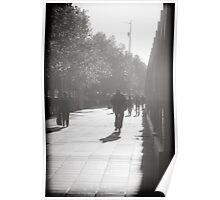 South Bank morning walk Poster