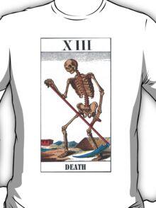 Death Tarot Card T-Shirt
