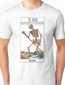 Death Tarot Card Unisex T-Shirt