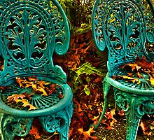 The Lovers' Chairs by Angus McLaren