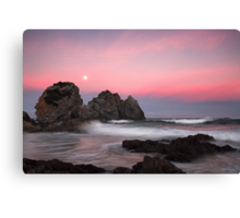 Moonrise over Camel Rock Canvas Print