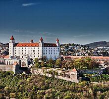 The beautiful Bratislava Castle. by Moko1
