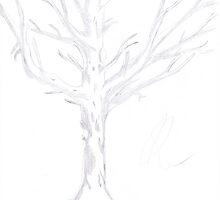 The White Tree Of Gondor - Sketch by Gorknex
