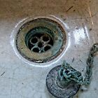 Sink and old plug by Karen  Betts