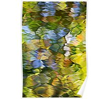 Sycamore Mosaic Abstract Poster