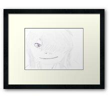 Noodle Sketch Framed Print