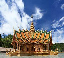 Wat Phra Phutthabat Si Roi, Chiang Mai, Thailand by hdamm