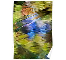 Tropical Mosaic Abstract Poster