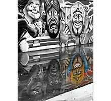 Graffiti Reflection Photographic Print
