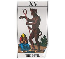 The Devil Tarot Poster